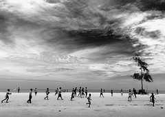 Benguela beach football -Angola