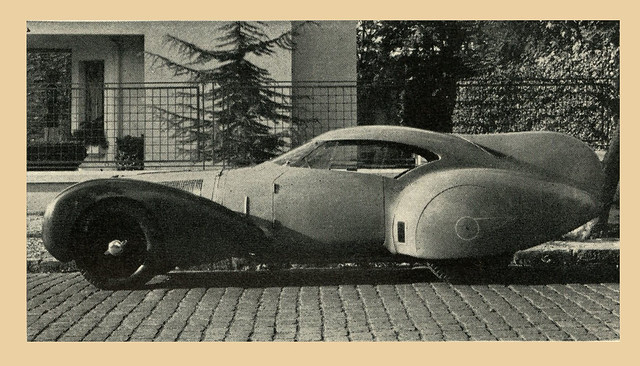 "Delage With ""Stabilizing Fin"""
