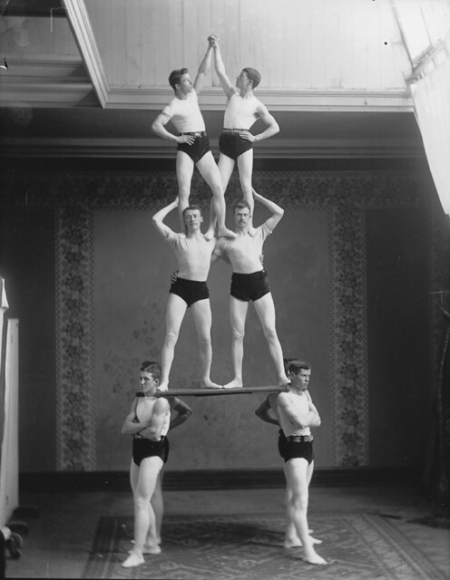 Gymnastic group, Montreal, QC, 1891