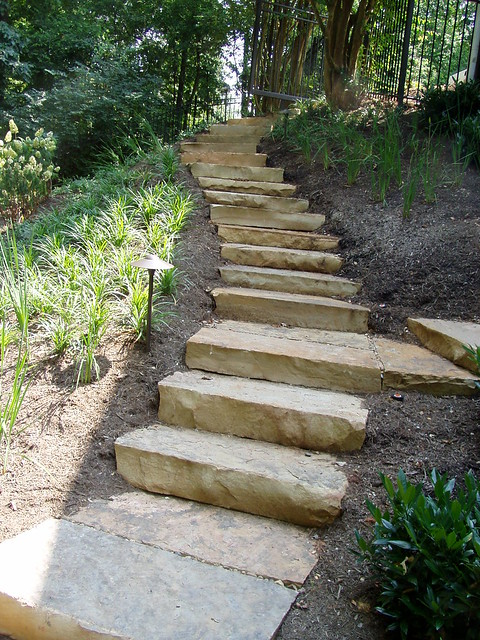 Natural Stone Stairs : Natural stone steps flickr photo sharing