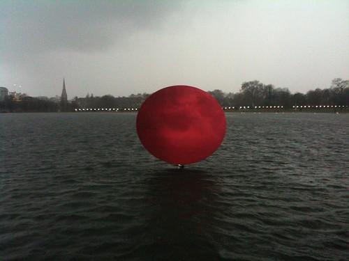 Anish Kapoor in Kensington Gardens
