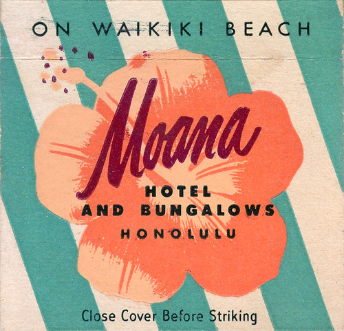Moana Hotel and Bungalows by jericl cat