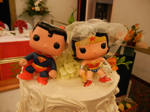 cutest wedding topper by pengrin™