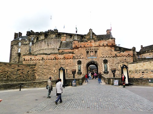 Esplanade at Edinburgh Castle