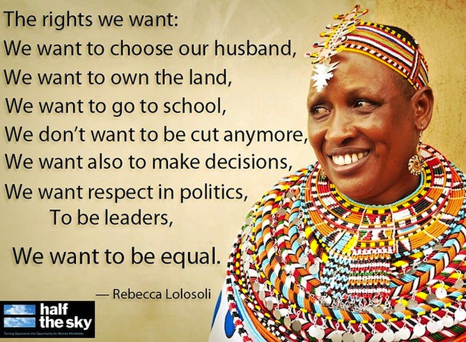 60 Inspiring Women And The Inspiring Things They Said ONE Amazing Women's Rights Quotes