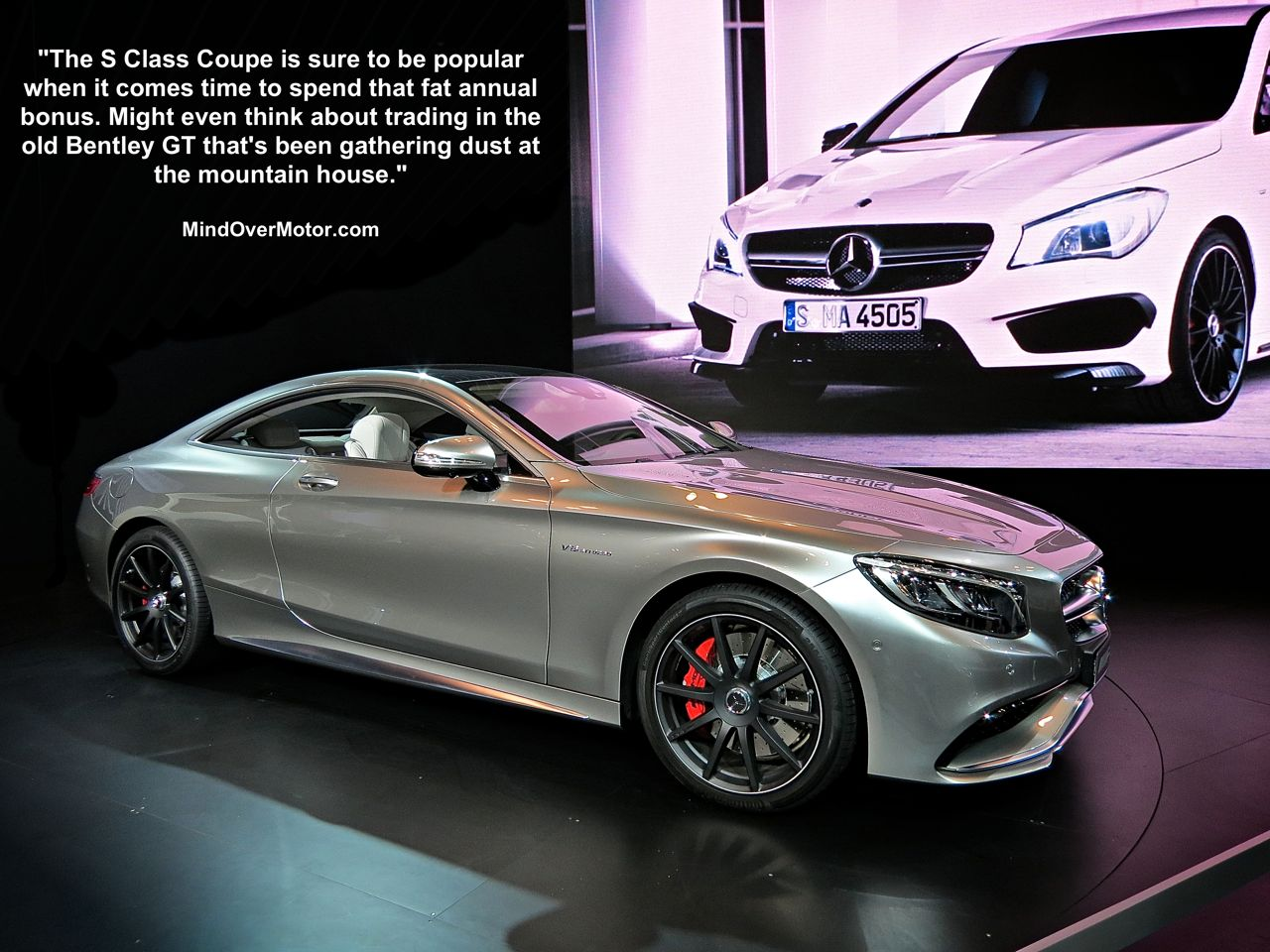 NYIAS 15 Mercedes S63 Coupe