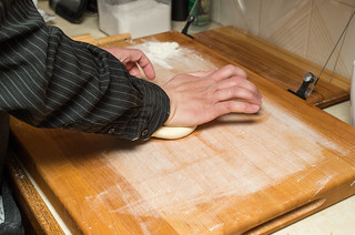 Forming the dough