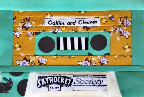Paper Pieced Cassette