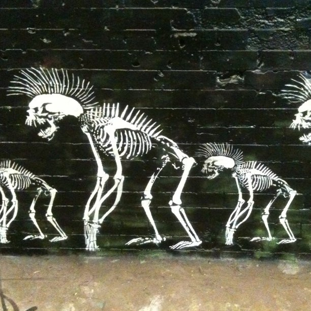 punk skeletons