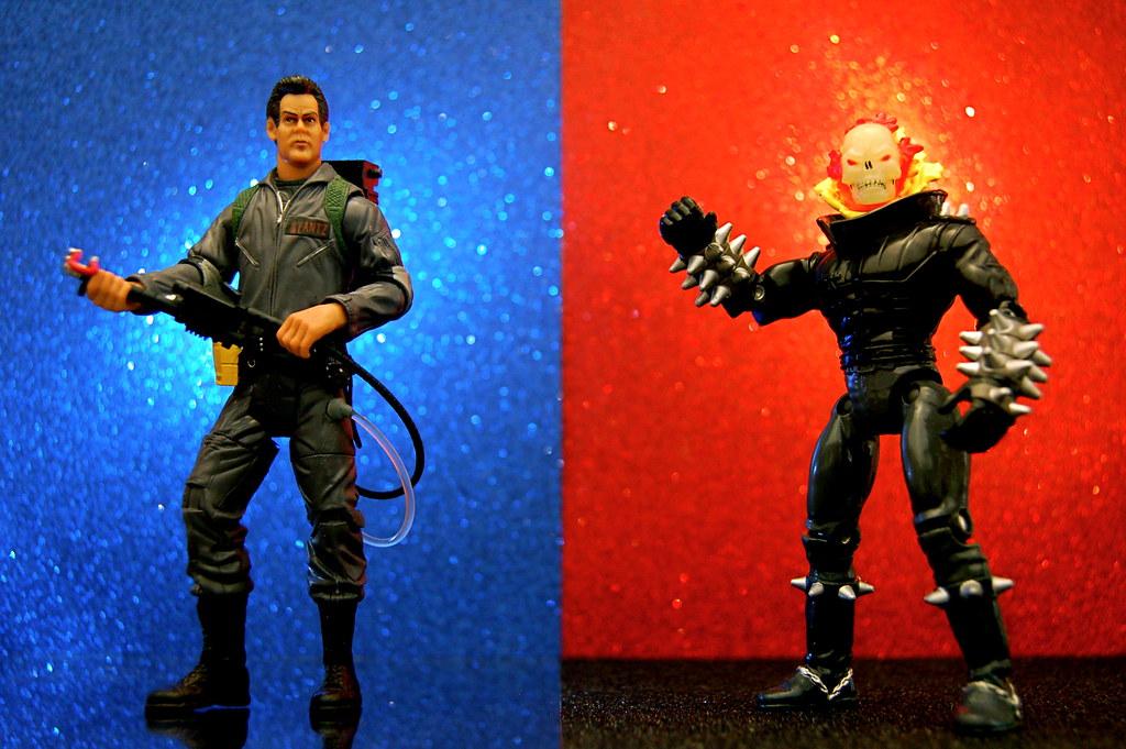 Dr. Raymond Stantz vs. Ghost Rider (330/365)