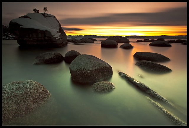 Bonsai Rock Study #5 - Lake Tahoe, Nevada, USA