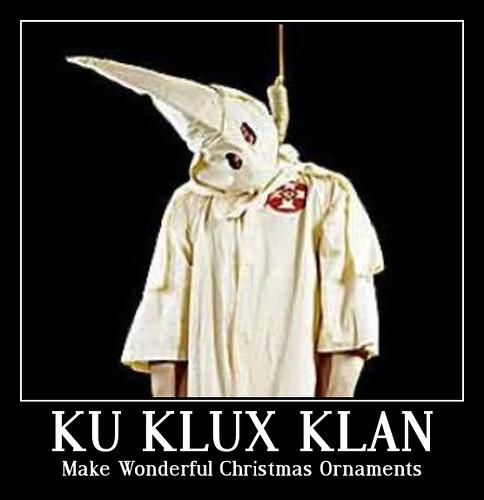 KKK Christmas Ornament
