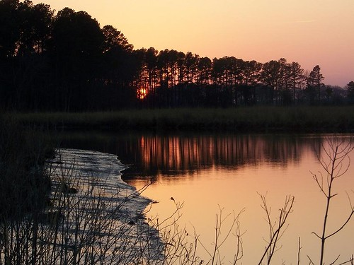 sunset nature water river twilight maryland easternshore waterscape somersetcounty
