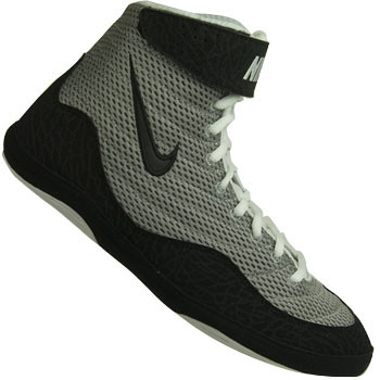 Nike Inflict Wrestling Shoes in Gray and Black 3Inflict