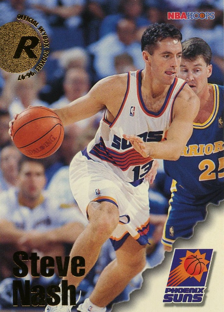 Steve Nash Rookie Card