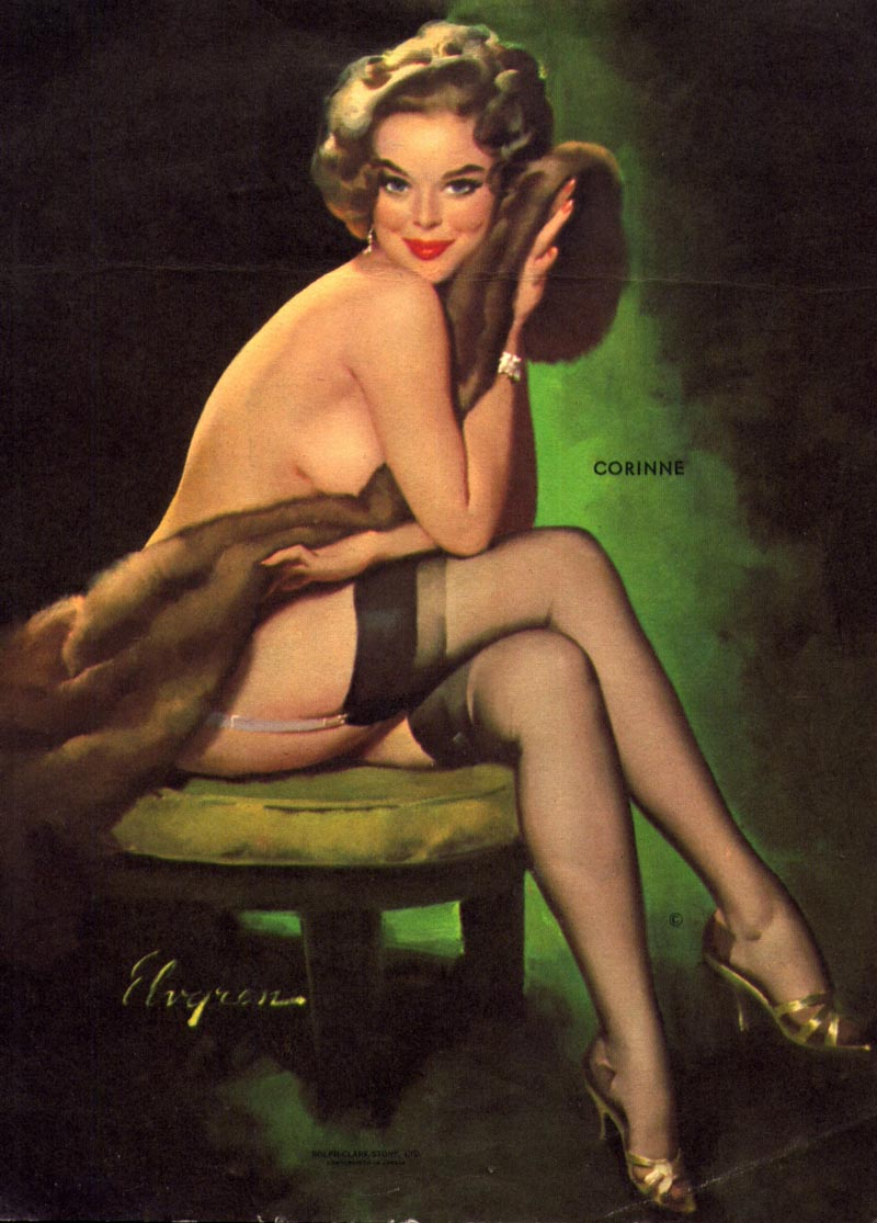 today 39 s inspiration haddon sundblom and the chicago pin up artists. Black Bedroom Furniture Sets. Home Design Ideas