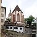 Basel Matinskirche oberhalb des Rheinsprung by Wolfsraum