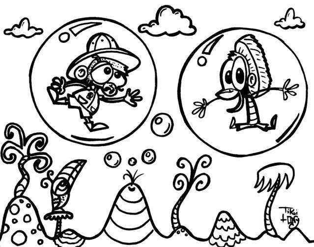tiki man coloring pages - photo#29