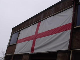 Spaghetti Junction - Tyburn Road - England flag