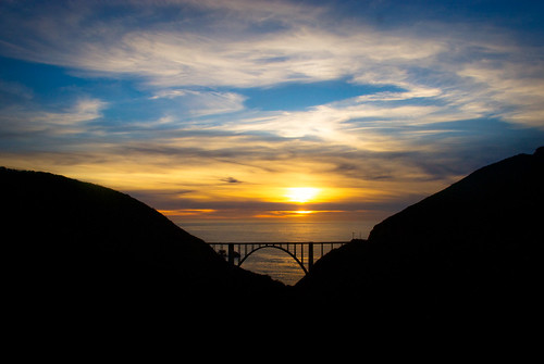 Sunset at Big Sur (Farewell, 2010)