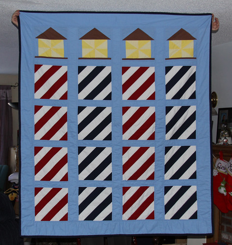 Lighthouse Quilt | by Kelsey Creates