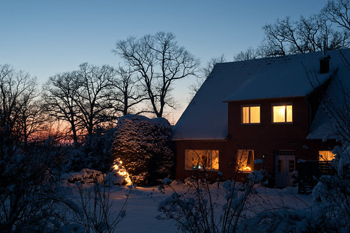 White Christmas in Lower-Saxony