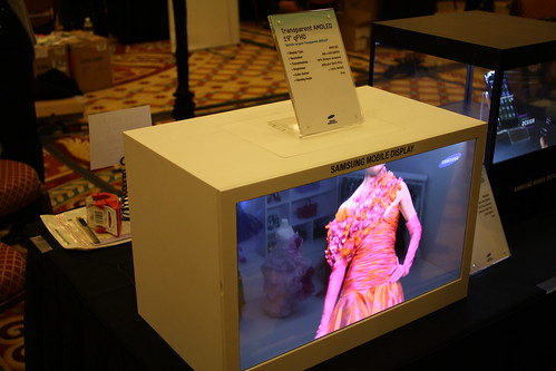 "Transparent OLED"" Transparent Display"