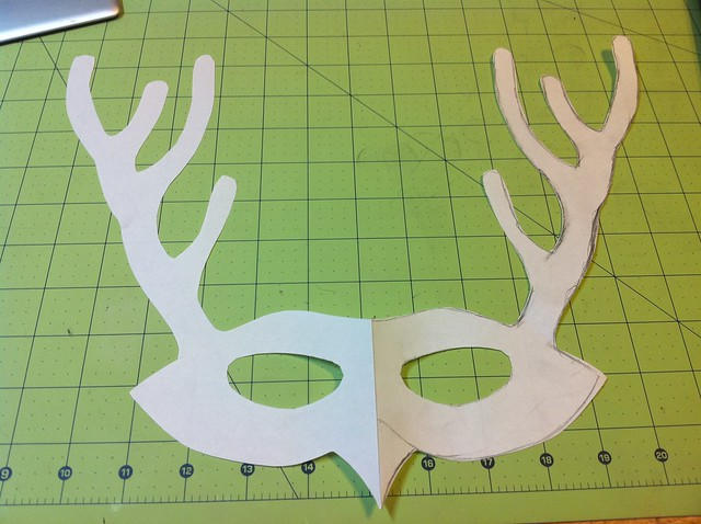 paper mask template | Flickr - Photo Sharing!