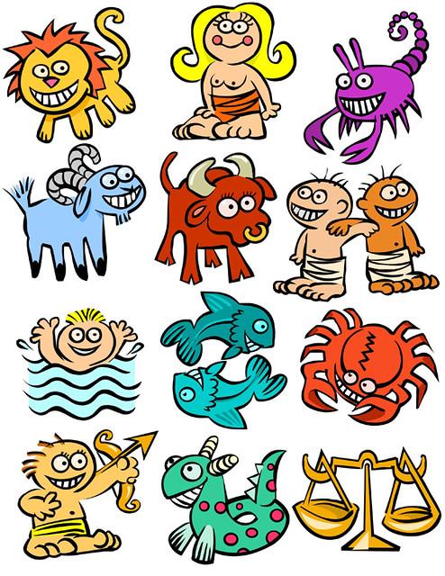 cartoon zodiac | Flickr - Photo Sharing!