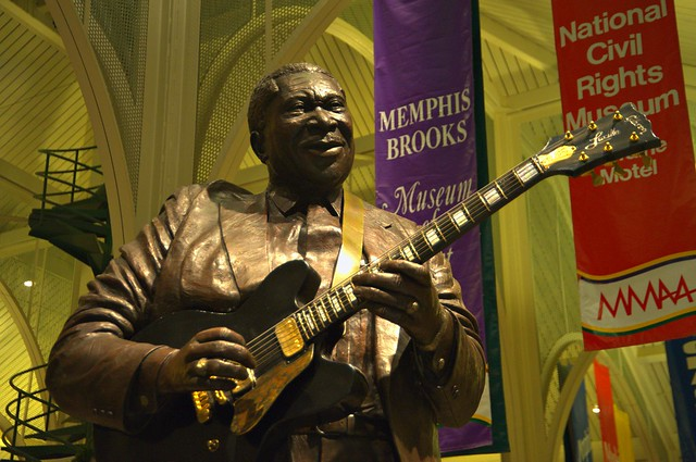 B.B.King - Memphis DOT Welcome Center by cwwycoff1, on Flickr