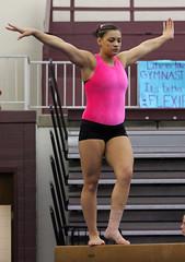 TWU Gymnastics Beam - Kristin Edwards