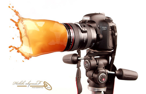 Canon EOS 7D Splash