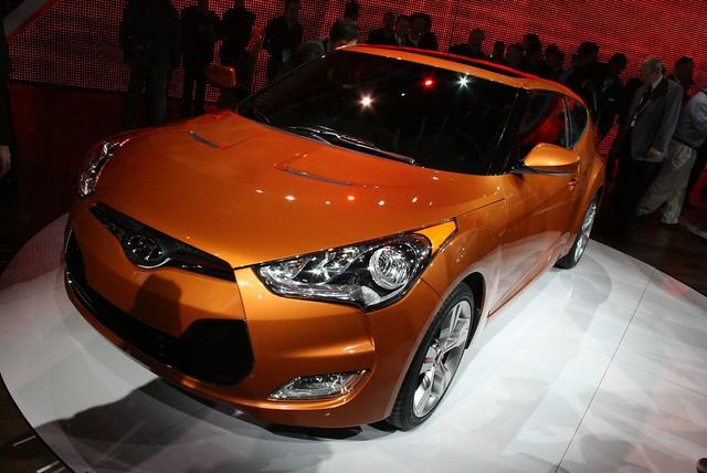 2011 Detroit: 2012 Hyundai Veloster
