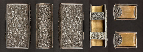 German silver binding,  c.1700