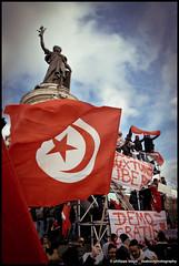 Manifestation Tunisie 2011 #5 by papacamera