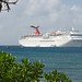 January 2011 - Vacation on Grand Cayman - Cruise Ships at Anchor