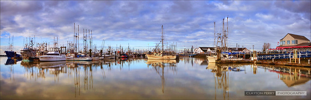 Steveston Harbour Morning [Explored]