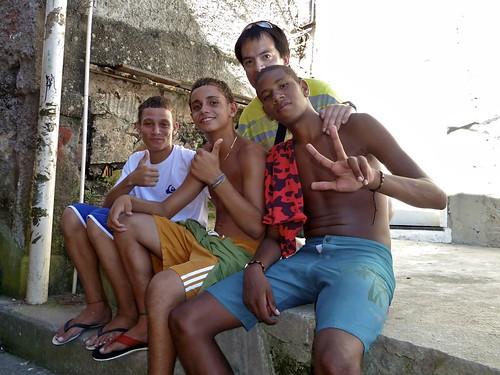 Santa Marta favela´s boys