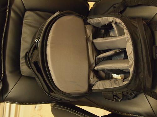 Tamrac daypack interior  20