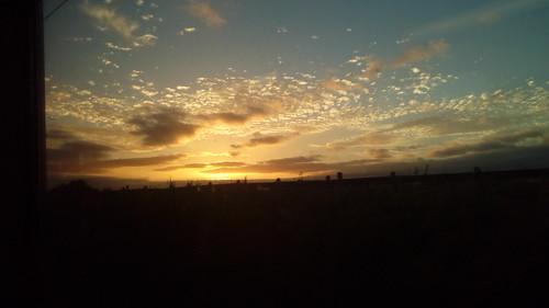 Sunset and Cirrus