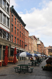 Image of South Street Seaport Historic District. street nyc newyork manhattan south southstreetseaport area seaport