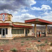 1950s AMERICAN PETROL STATION, OUARZAZATE. by Mabelle Imossi