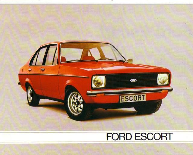 1980 ford escort mk2 brochure europe flickr photo. Black Bedroom Furniture Sets. Home Design Ideas