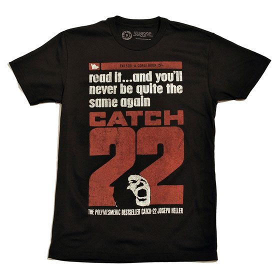 Catch 22 Tee by Out of Print