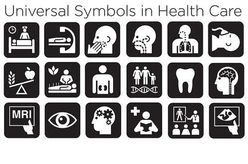 ISU graphic design studio contributes to new universal symbols for health care facilities