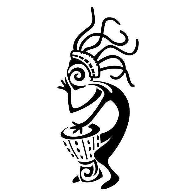 Djembe-kokopelli-tattoo