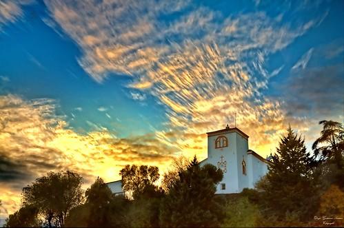 sunset sky españa sunlight clouds atardecer spain huelva andalucia cielo nubes ocaso hdr gettyimages alajar sxvi peñadeariasmontano