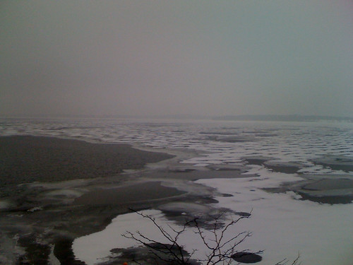 wintry lake monona