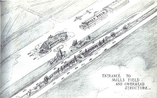 Mills Field (San Francisco International Airport) interchange (1940)