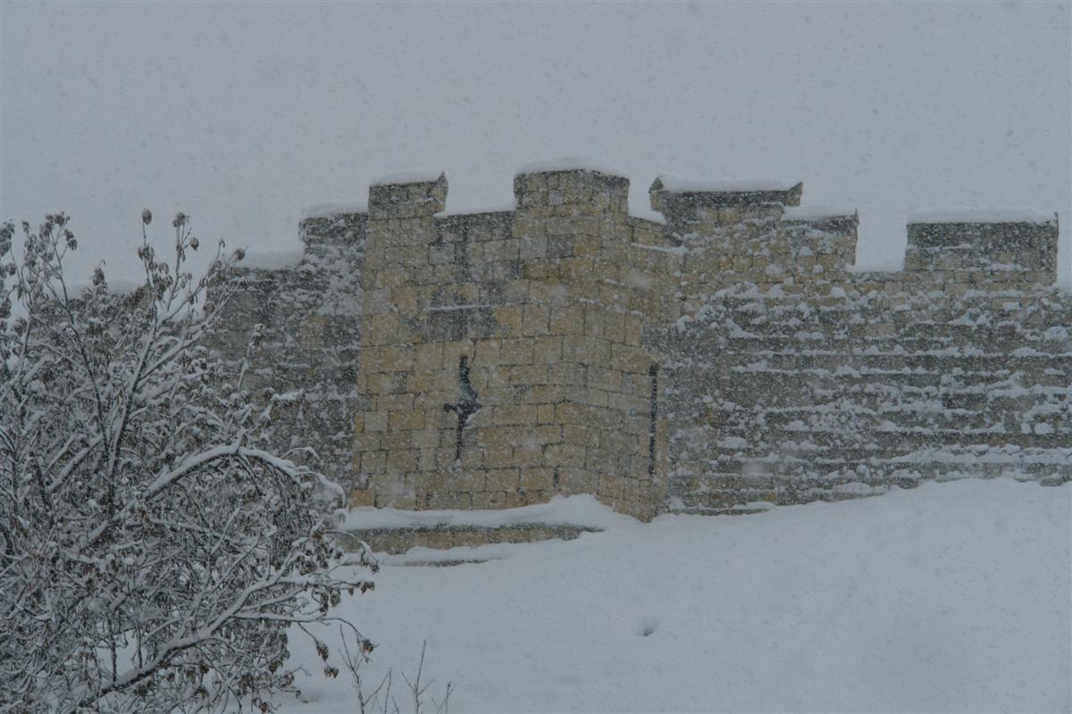 York City Wall, muralla antigua de la ciudad de York York, magia e historia tras la nieve - 5273519856 3128ea626f o - York, magia e historia tras la nieve